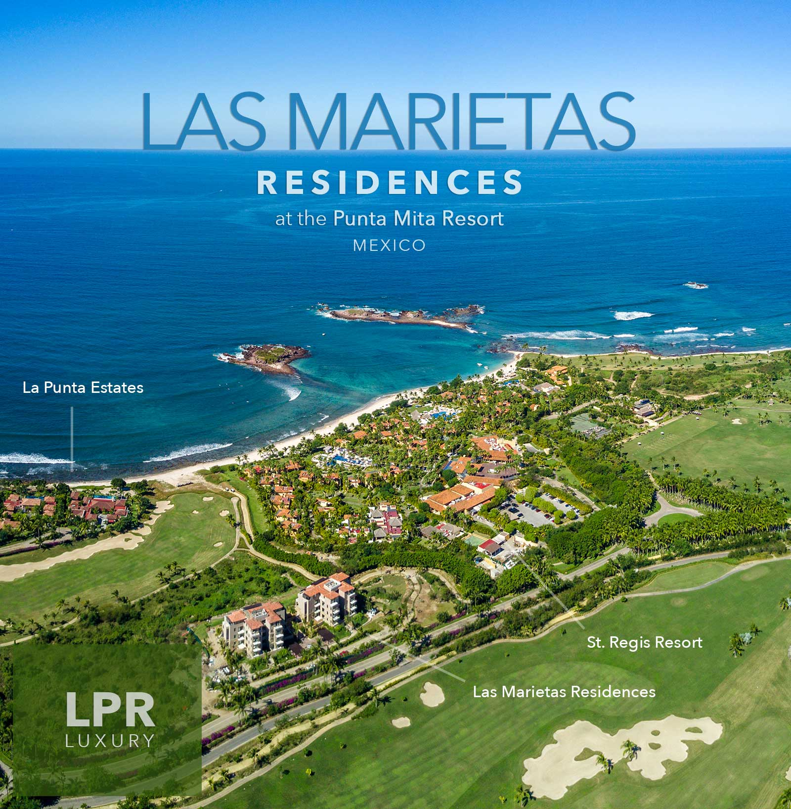 Las Marietas condos - Luxury Punta Mita Resort real estate for sale and rent